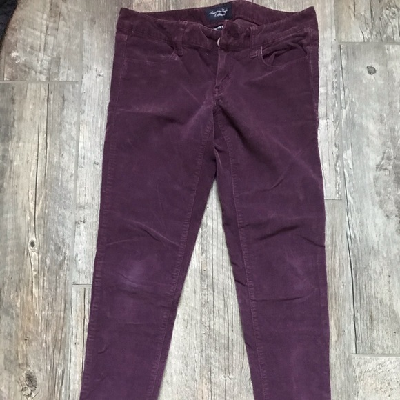 American Eagle Outfitters Pants - American eagle corduroy super stretch jegging 4